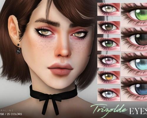 Trizolde Eyes N136 by Pralinesims