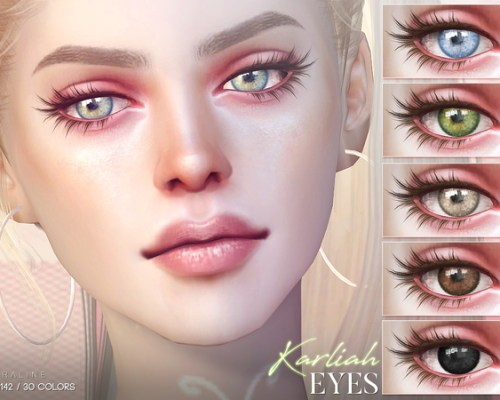 Karliah Eyes N142 by Pralinesims