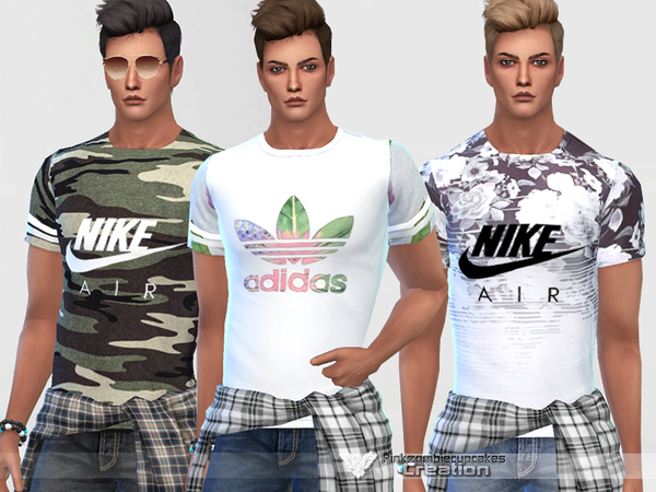 Sporty T-shirts For Him By Pinkzombiecupcakes
