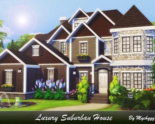 Luxury Suburban House by MychQQQ