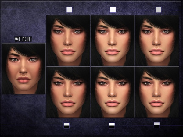 R Skin 8 Female Overlay By RemusSirion