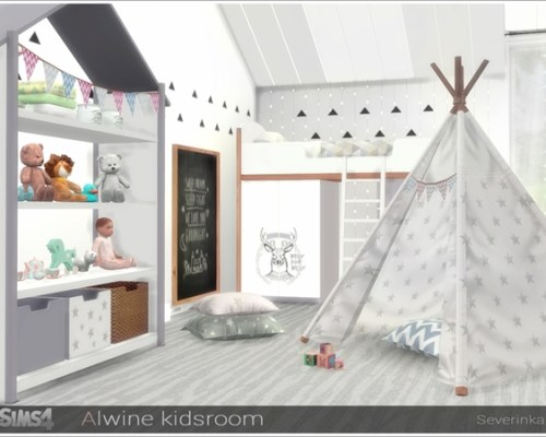 Alwine kidsroom by Severinka