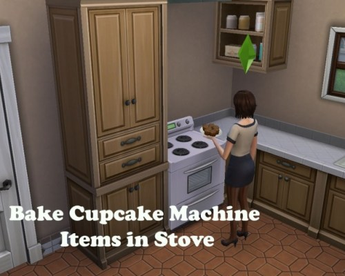 Bake Cupcake Machine Items in Oven by emilypl27
