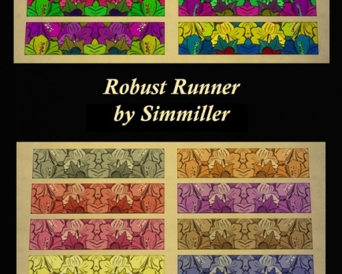 Robust Runner Floral Rug by Simmiller