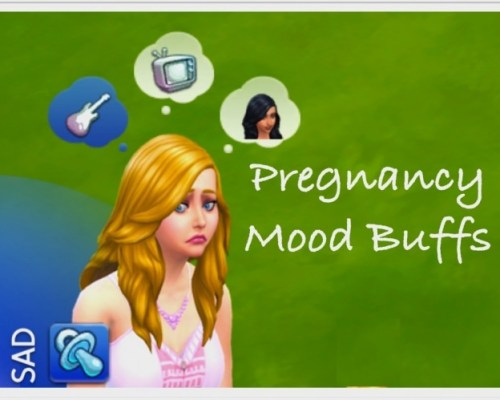 Pregnancy Mood Buffs by zafisims