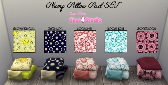 Plump Pillow Pad SET 20 Patterns By Wendy35pearly