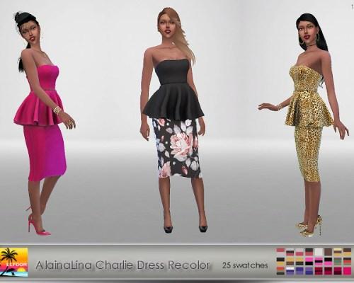 AlainaLina Charlie Dress Recolor