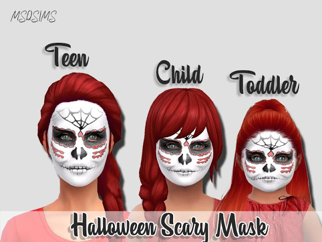 Halloween Scary Mask