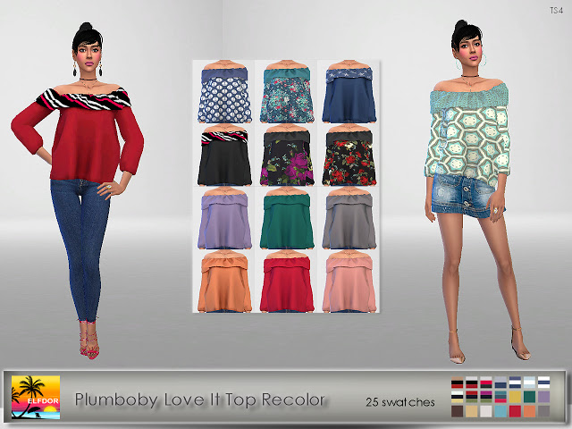 Plumboby Love It Top Recolor
