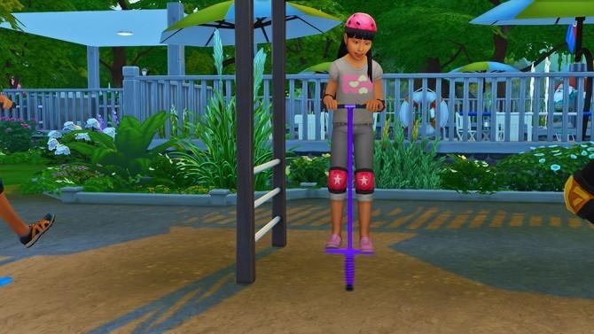 Pogo Stick Pose For Kids