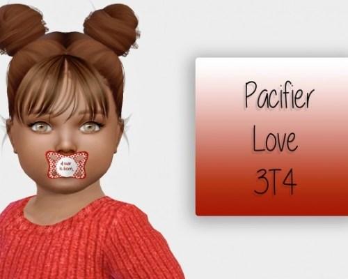 Pacifier Love 3T4