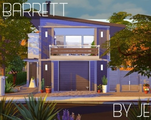 Barrett modern home