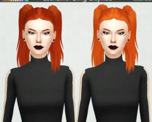 Leahlillith Bling Hair Clayified