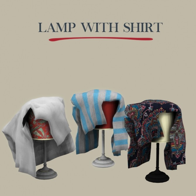 Lamp With Shirt