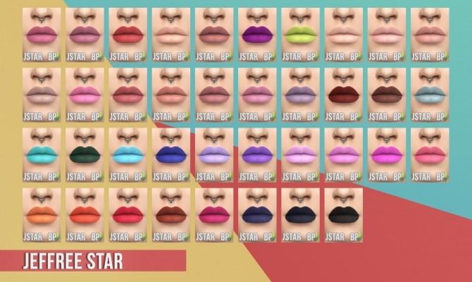 Matte Lipstick Set I