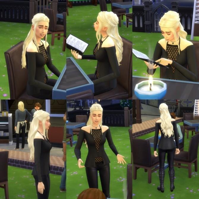3.Version Daenerys Hair