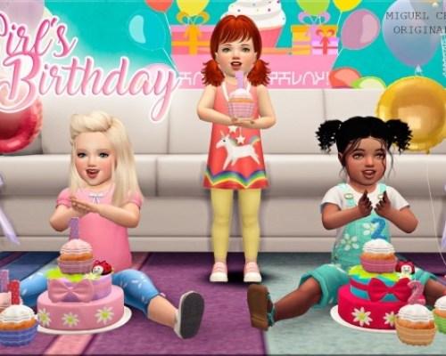 Girl´s Birthday set