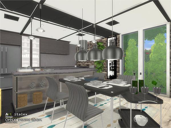Oppexy Dining Room By ArtVitalex