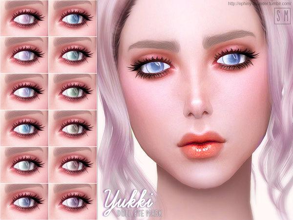 Yukki Doll Eye Mask By Screaming Mustard