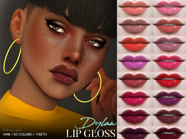 Dylan Lip Gloss N146 By Pralinesims