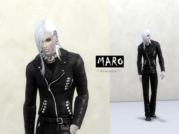 MARO Male Outfit By Helsoseira