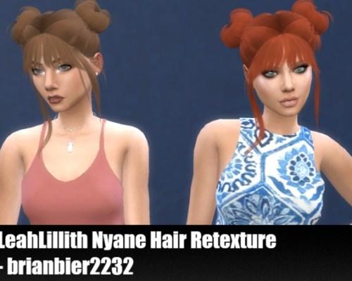 LeahLillith Nyane Hair Retexture by brian.bier