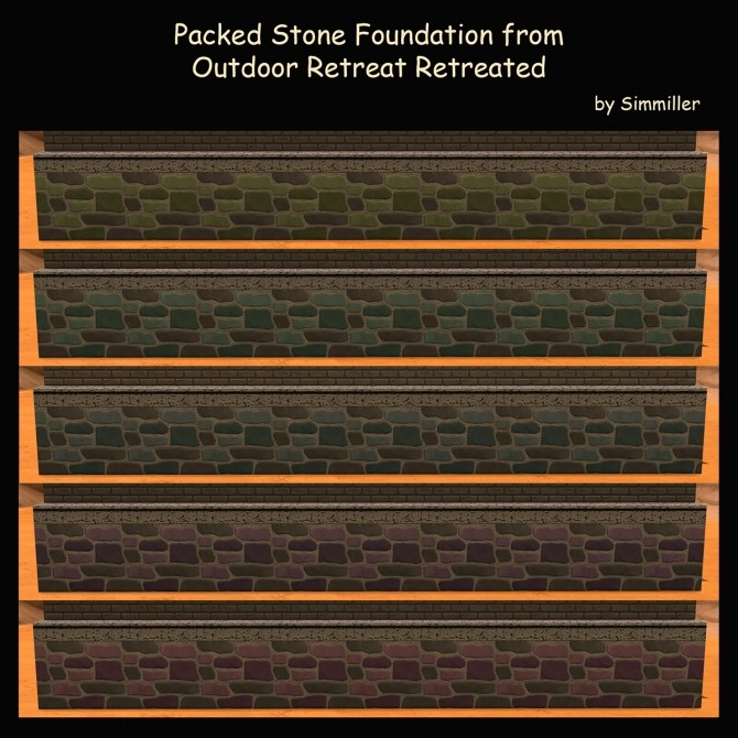 Packed Stone Foundation By Simmiller