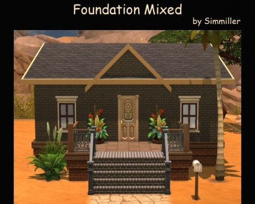 Better Than Bricks Foundation Mixed by Simmiller