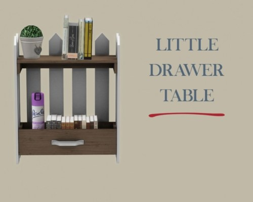 Little Drawer Table