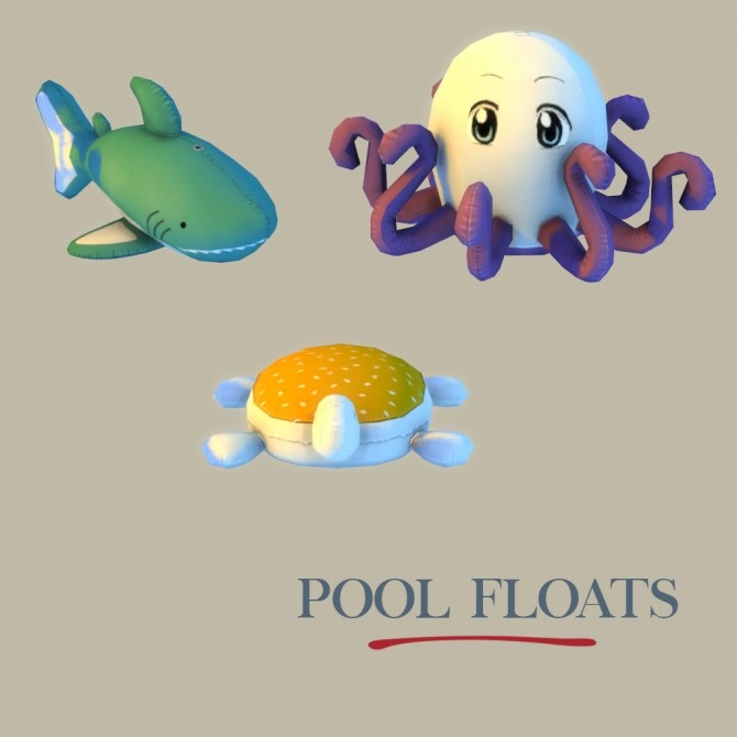 Lily Pool Floats