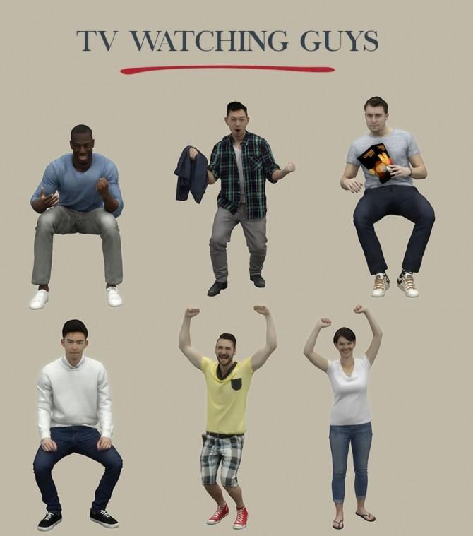 TV Watching Guys
