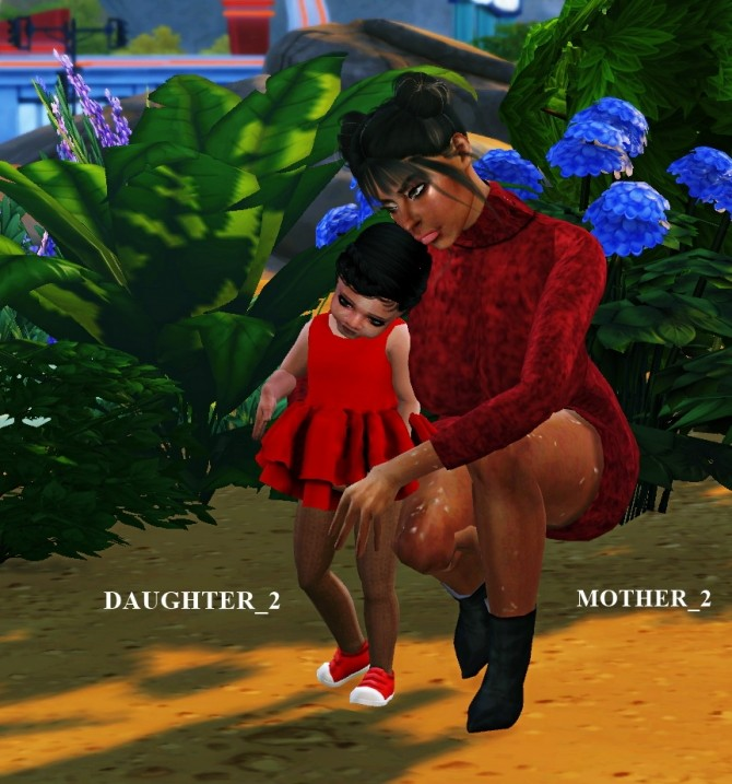MOTHER N DAUGHTER Poses