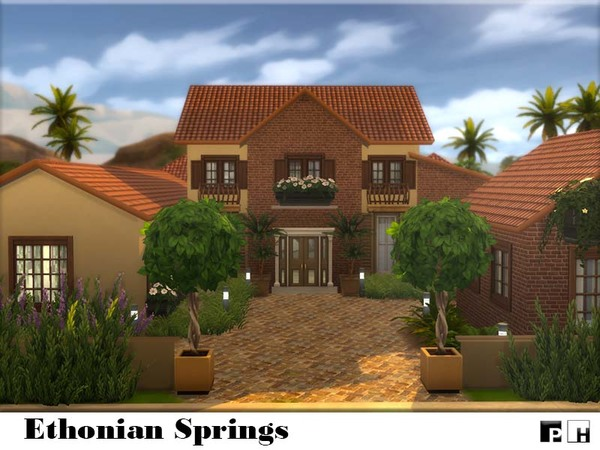 Ethonian Springs Home By Pinkfizzzzz