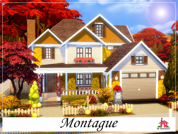 Montague Family Home By Sharon337