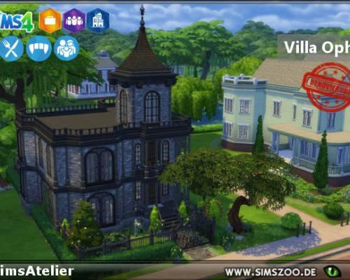 Villa Ophelia by SimsAtelier