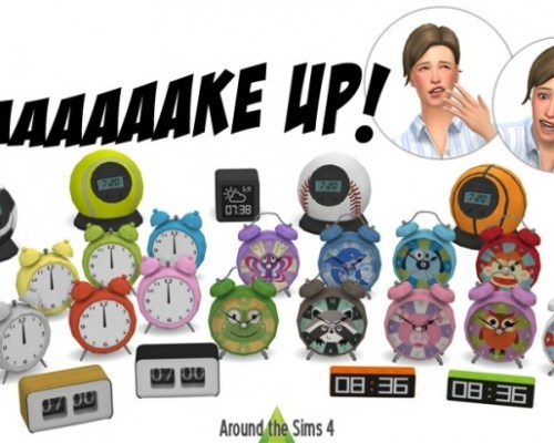 Alarm clocks by Sandy