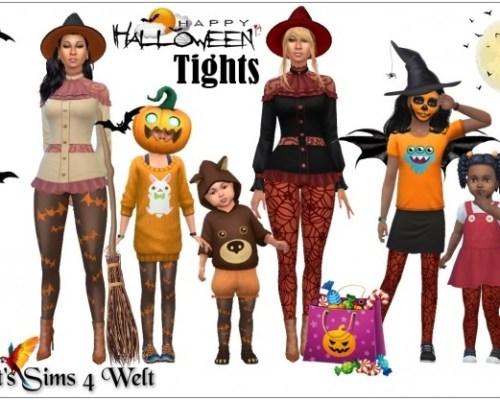 Happy Halloween Tights