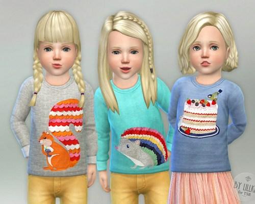 Designer Shirt for Toddler Girls P04 by lillka