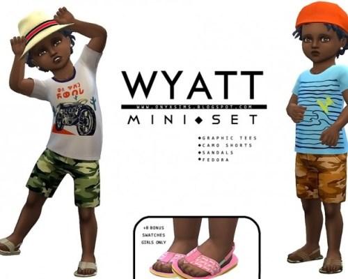 Wyatt Mini Set