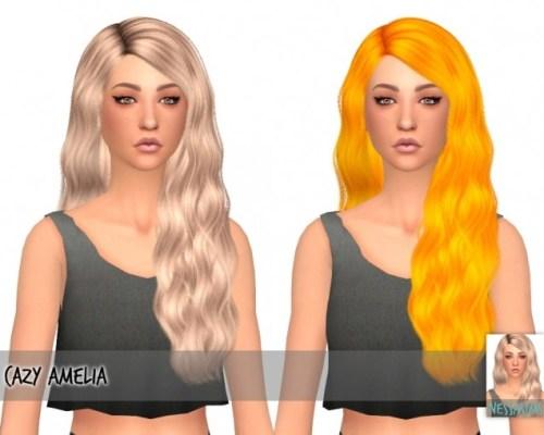 Cazy amelia hair retexture