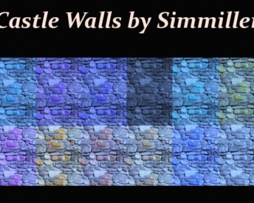 Castle Walls by Simmiller