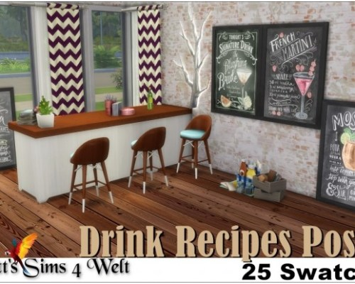 Drink Recipes Poster