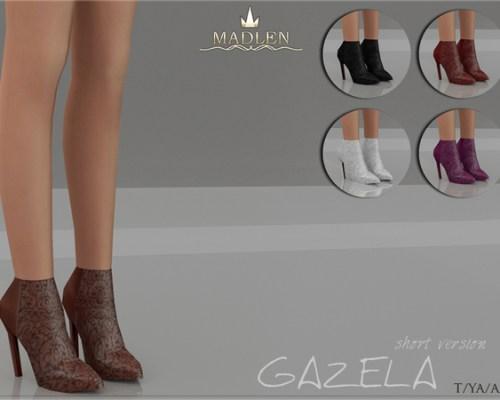 Madlen Gazela Boots Short by MJ95