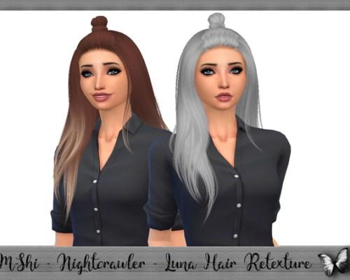 M-Shi Nightcrawler Luna Hair Retexture by mikerashi