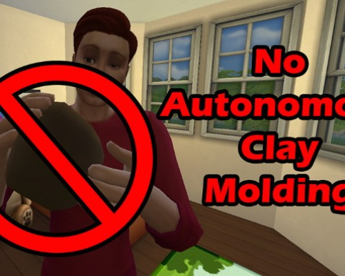 No Autonomous Clay Molding by Simroku