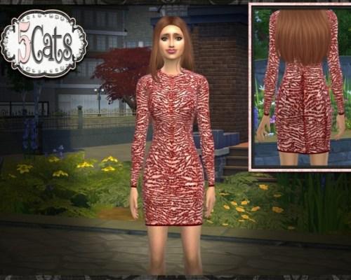 Designer Short Sequin Cocktail Dress