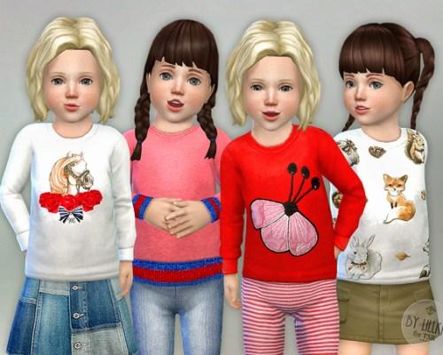 Designer Shirt for Toddler Girls P05 by lillka
