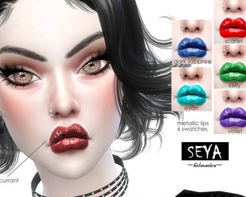 SEYA Metallic lips by Helsoseira