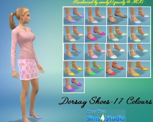 EP03 Dorsay Shoes 17 Recolours by wendy35pearly