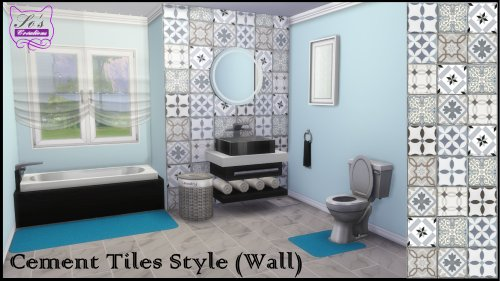 Cement Tiles For Walls By Sophie Stiquet At